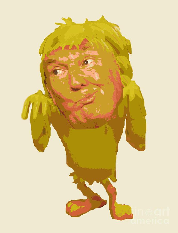 Tweeting Bird Donald Trump Painting By John Malone