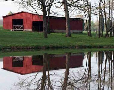 Barn Photograph - Twice As Nice by Linda A Waterhouse