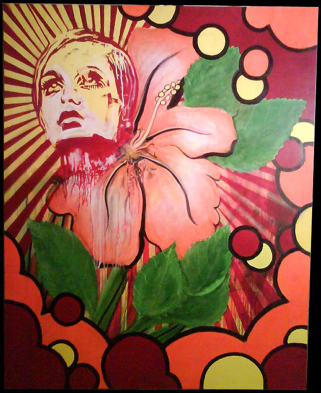 Twiggy Painting - Twiggy by Stephen  Barry