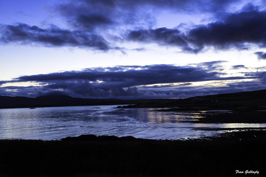 Twilight Photograph - Twilight At Loch Bracadale by Fran Gallogly