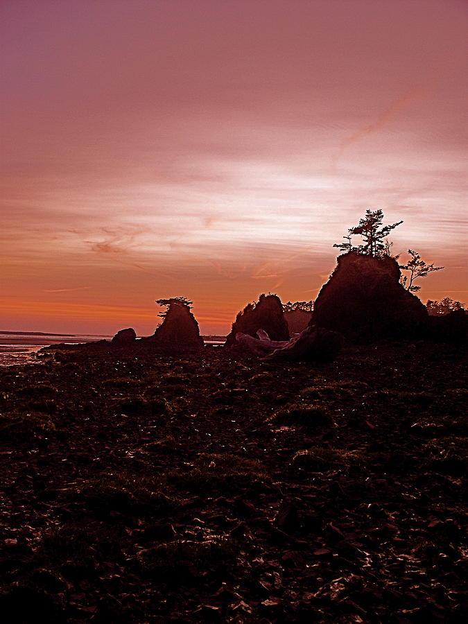 Bay Photograph - Twilight At Schooner by Jennifer Addington