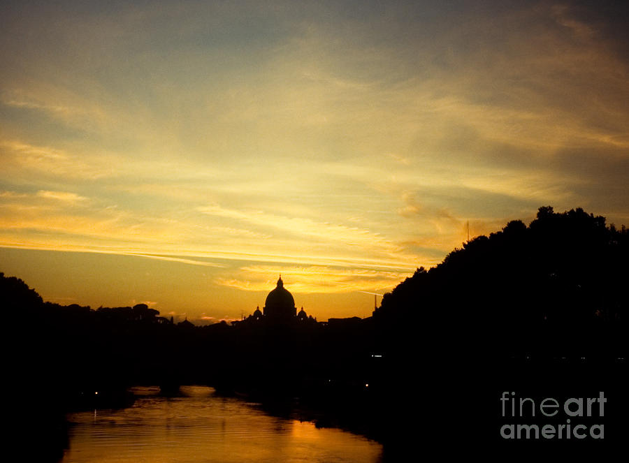 Christian Photograph - Twilight Behind The Vatican by Fabrizio Ruggeri