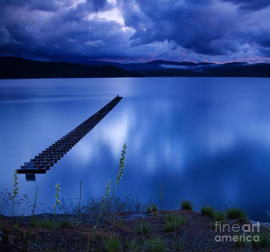 Blue Photograph - Twilight Blue by Idaho Scenic Images Linda Lantzy