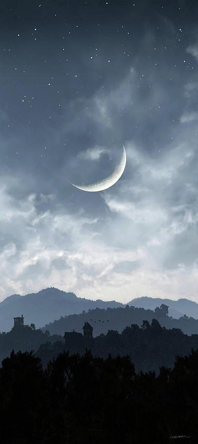 Twilight Digital Art - Twilight by Cynthia Decker