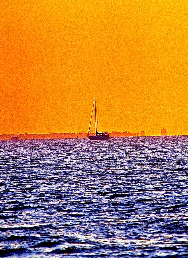 Sailing Photograph - Twilight by Gillis Cone