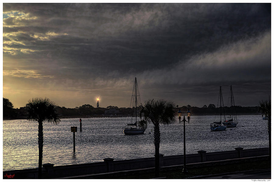 Twilight on Matansas Bay by Rogermike Wilson