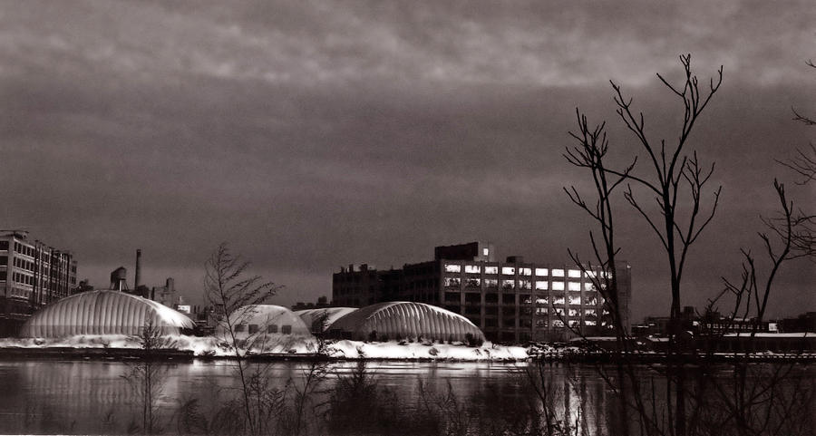 Long Island City Photograph - Twilight On The Other Side by Andrea Simon