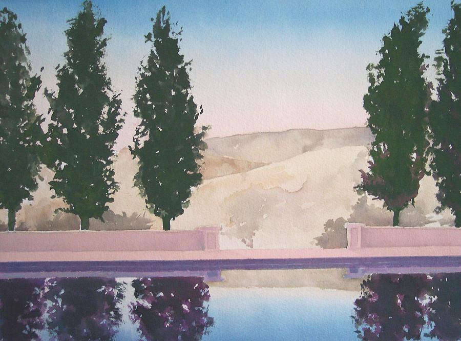 Landscape Painting - Twilight by Philip Fleischer