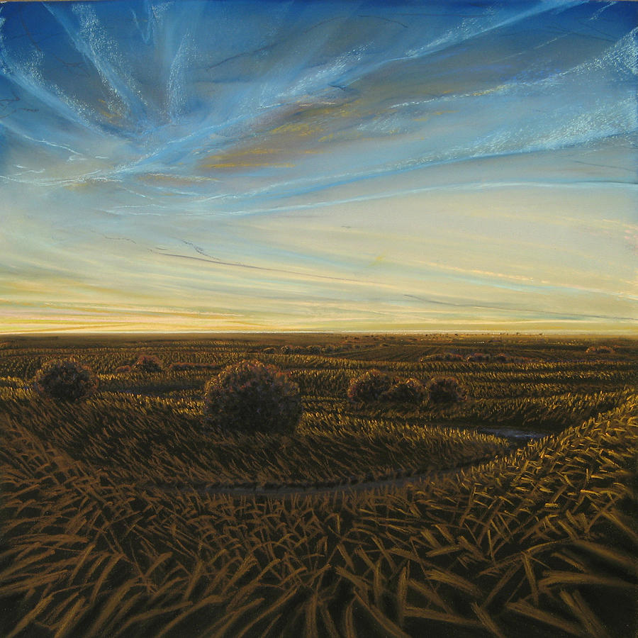 Landscape Painting - Twilight Radiance by Lisa Higby LeFevre