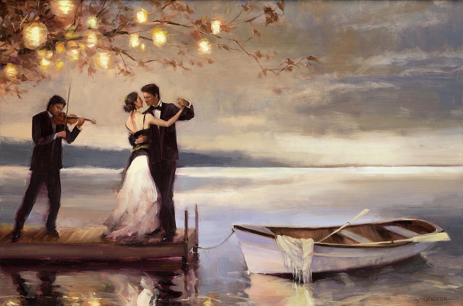 Twilight Romance Painting