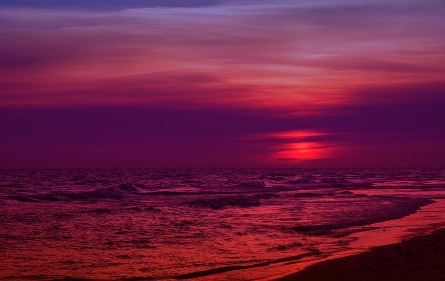 Panama City Beach Photograph - Twilight by Sandy Keeton