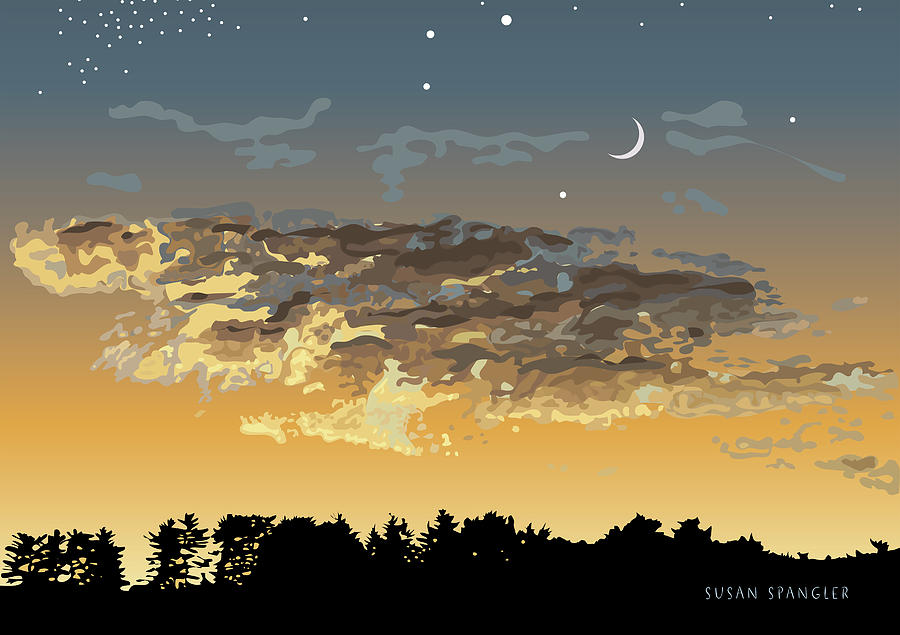Twilight Sky by Susan Spangler