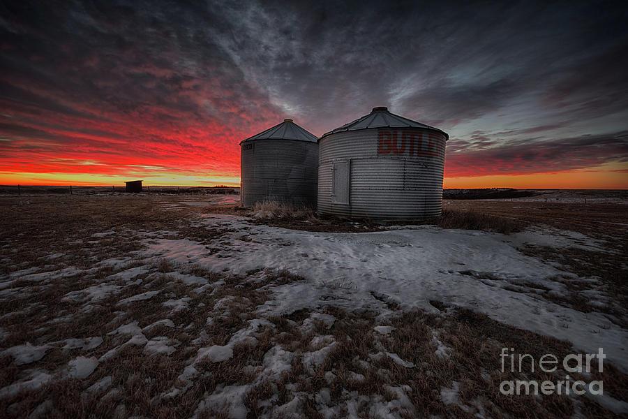 Canada Photograph - Twilight Twins by Ian McGregor