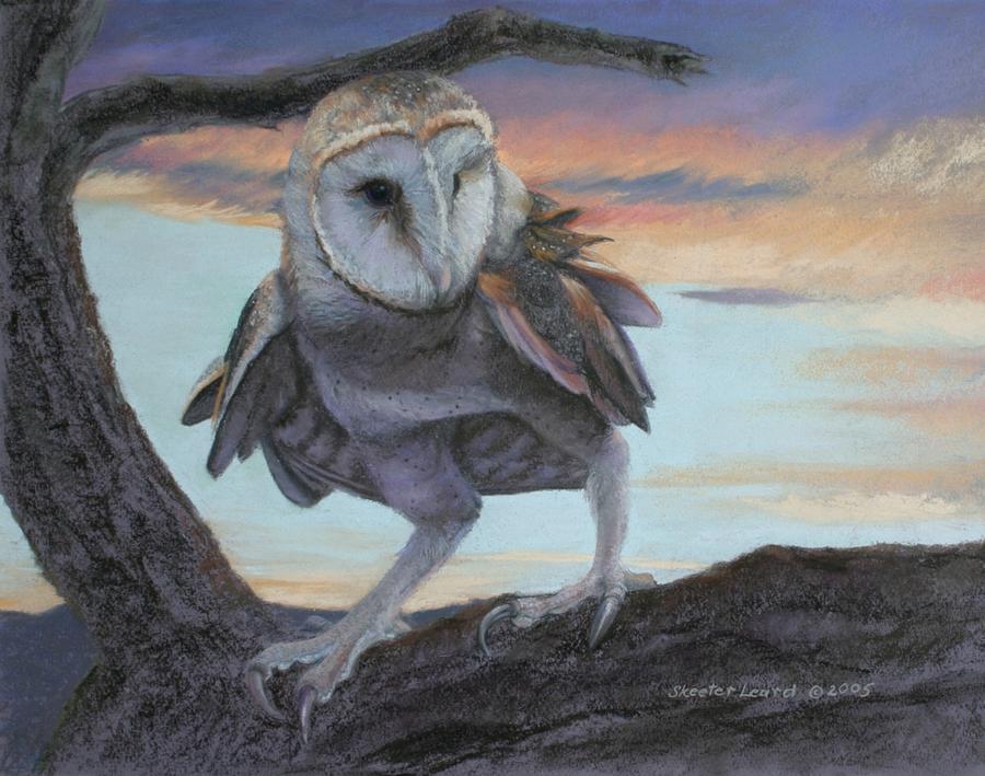 Twilight Zone Painting by Skeeter Leard