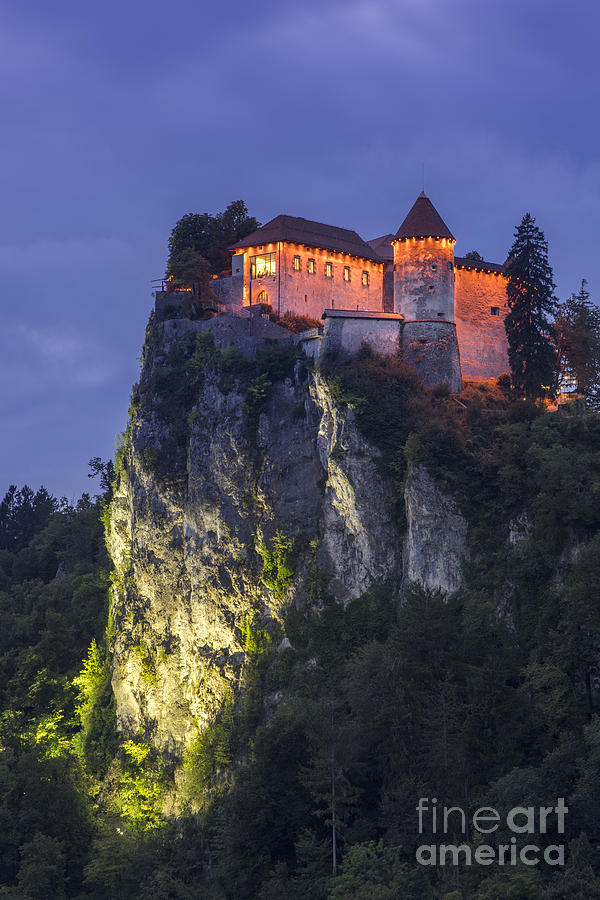 Trump Photograph - Bled Castle by Vyacheslav Isaev