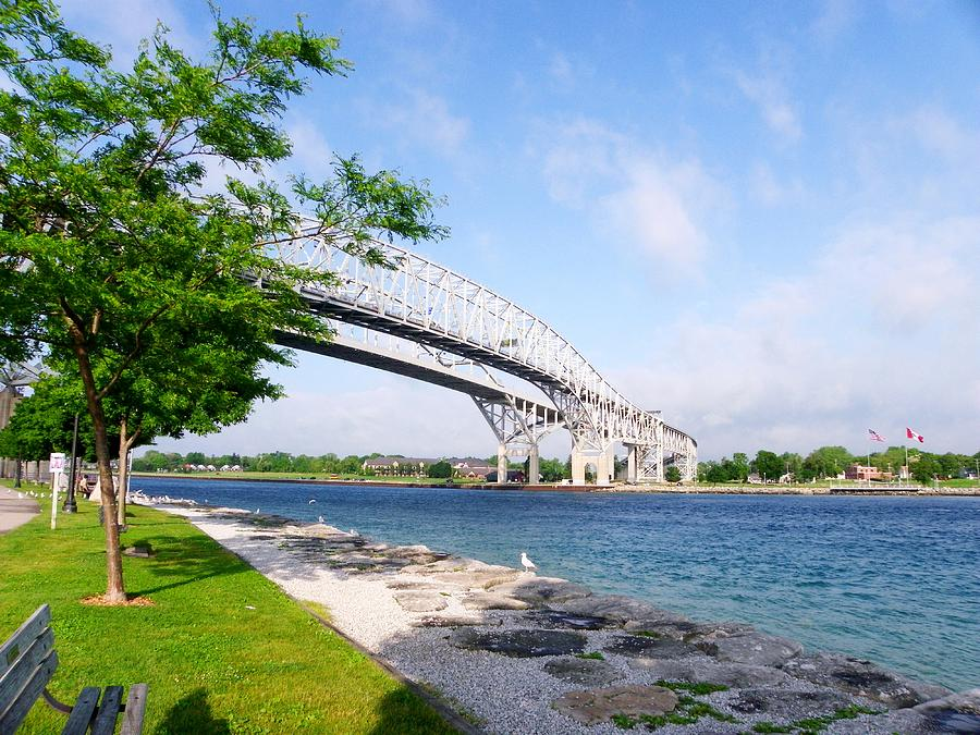 Bridge Photograph - Twin Bridges by Peggy King