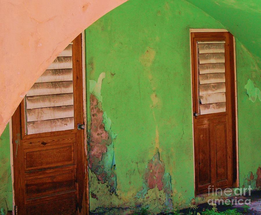 Doors Photograph - Twin Doors by Debbi Granruth