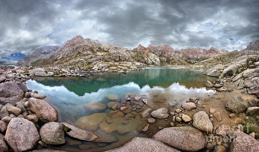 Colorado Photograph - Twin Lakes - Weminuche Wilderness - Colorado by Bruce Lemons