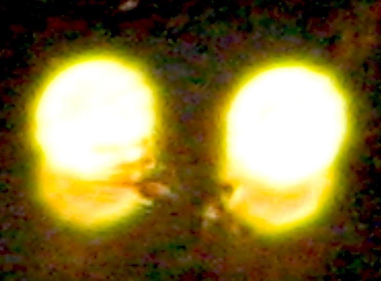 Lights Photograph - Twin Lights by Stephen Hawks