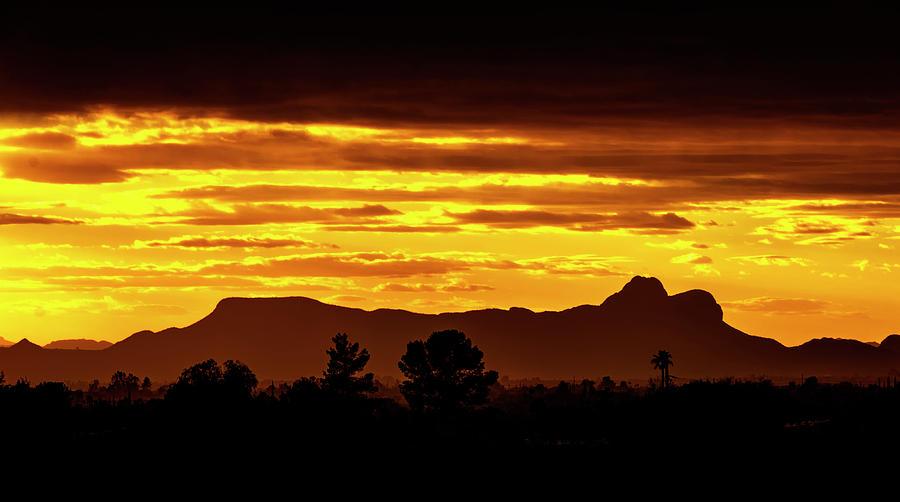 Twin Peaks Sunset No42 Photograph