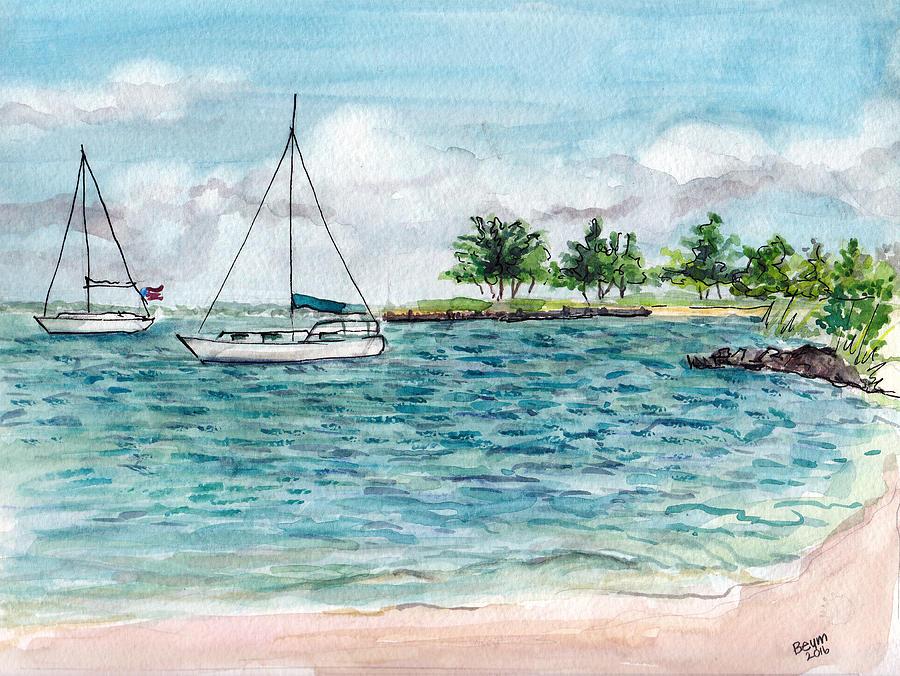 Twin Sails by Clara Sue Beym
