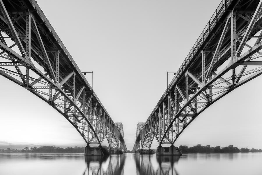 Twin Spans Niagara by Matt Hammerstein