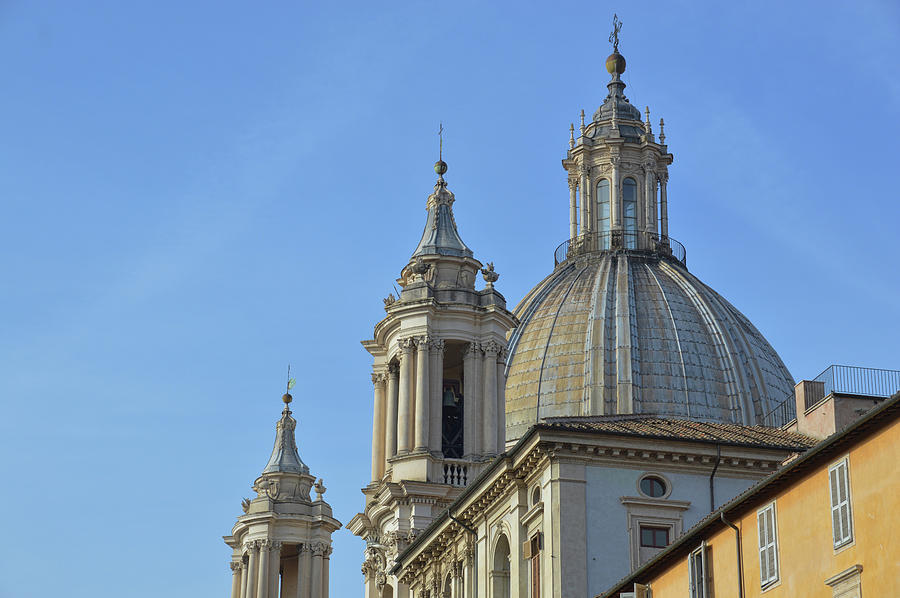 Italy Photograph - Twin Towers by JAMART Photography