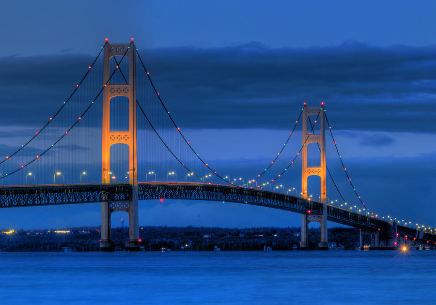 Mackinac Photograph - Twin Towers Of Northern Michigan by Twenty Two North Photography