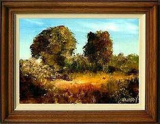 Trees Painting - Twin Trees by Graham Murray