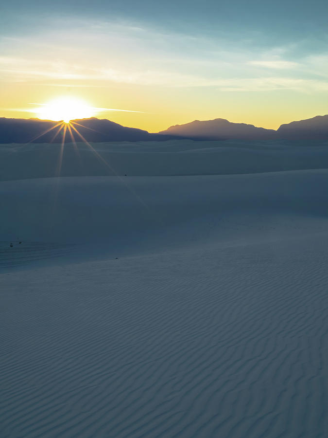 White Sands Photograph - Twinkle Twinkle by Rob Wilson