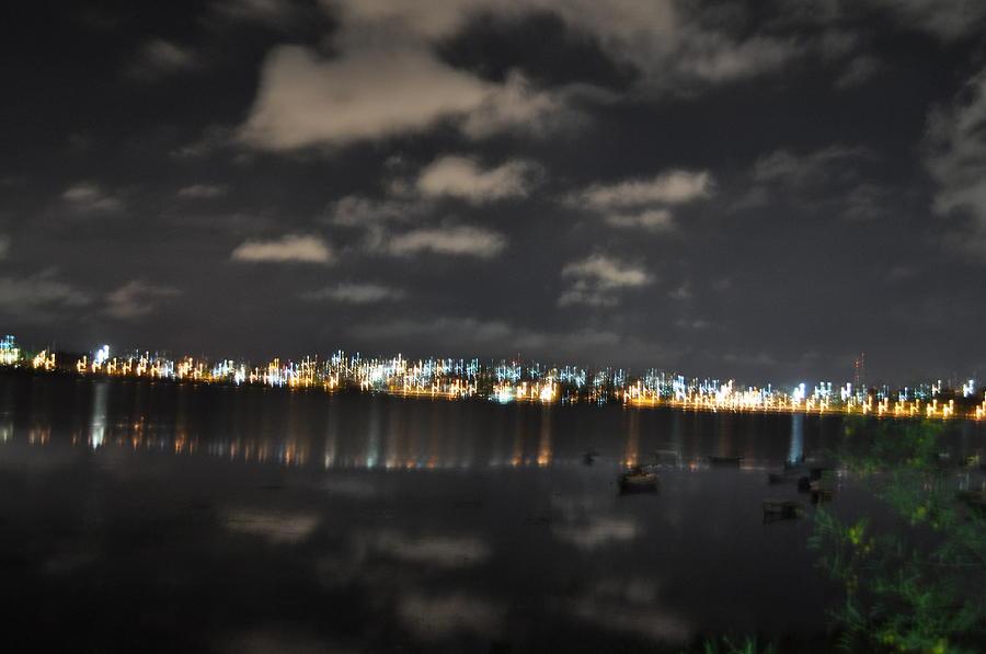 Twinkling Bhopal Night Photograph by Rakesh Sharma