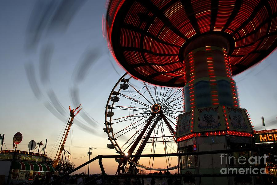 Fair Photograph - Twirling Away by David Lee Thompson
