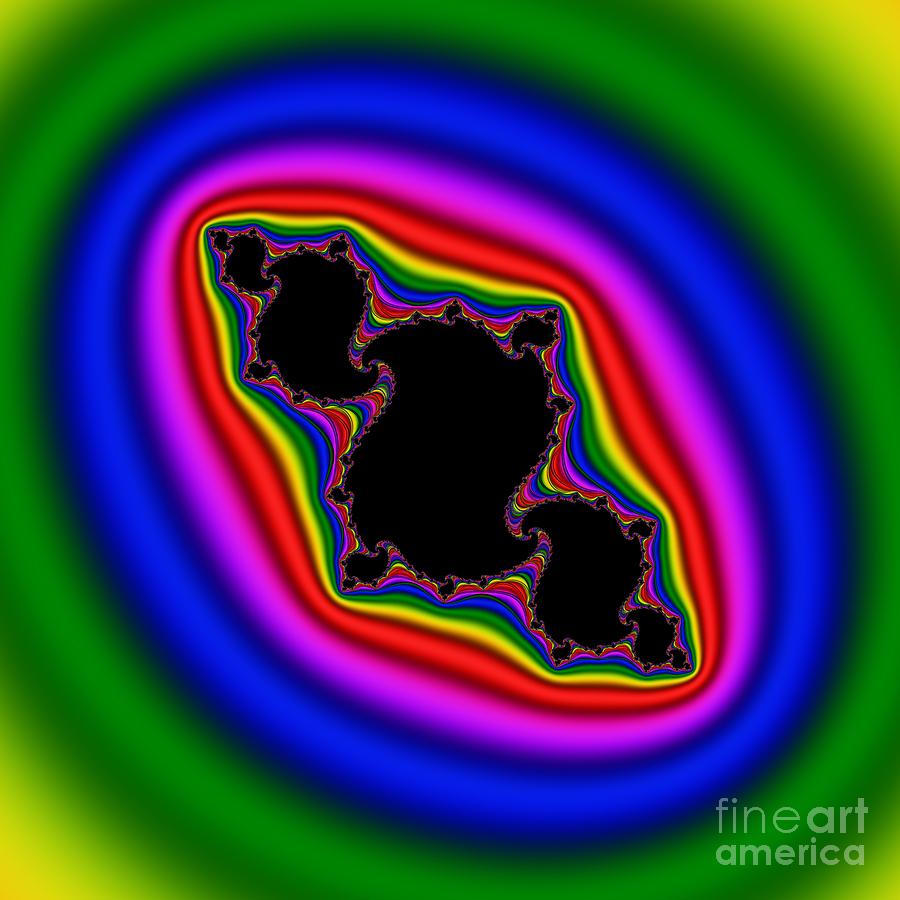 Abstract Digital Art - Twist 103 by Rolf Bertram
