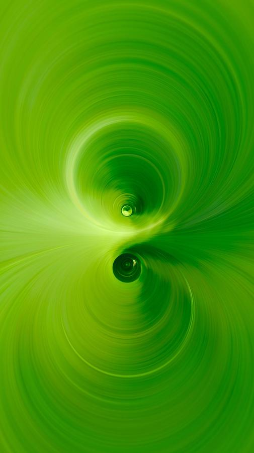 Green Photograph - Twist by Andre Brands