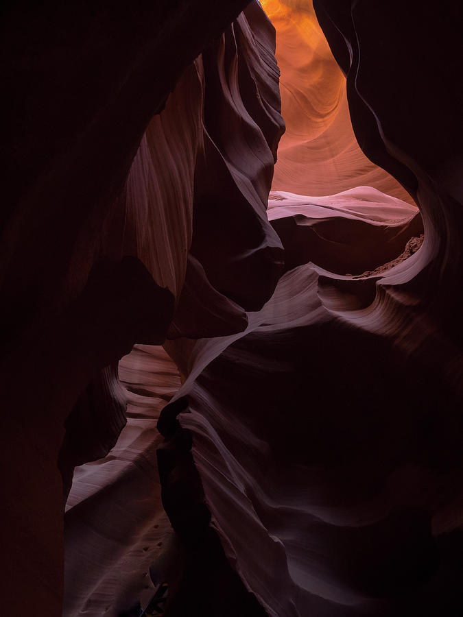 Slot Canyons Photograph - Twisted Rock by Rob Wilson