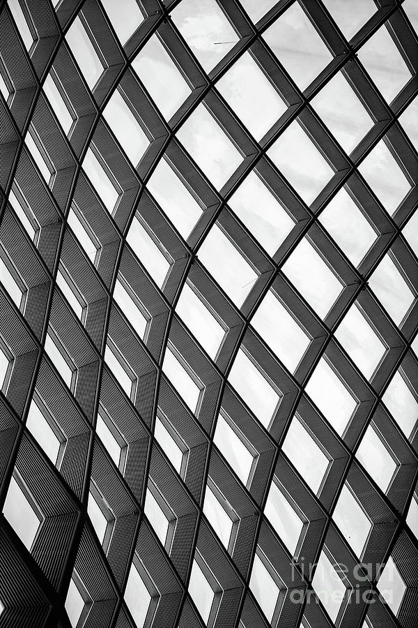 Twisted Squares Abstract Photograph