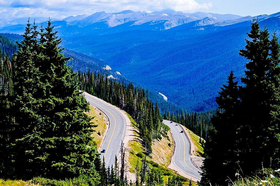 Rockies Photograph - Twists And Turns by Angela Sherrer