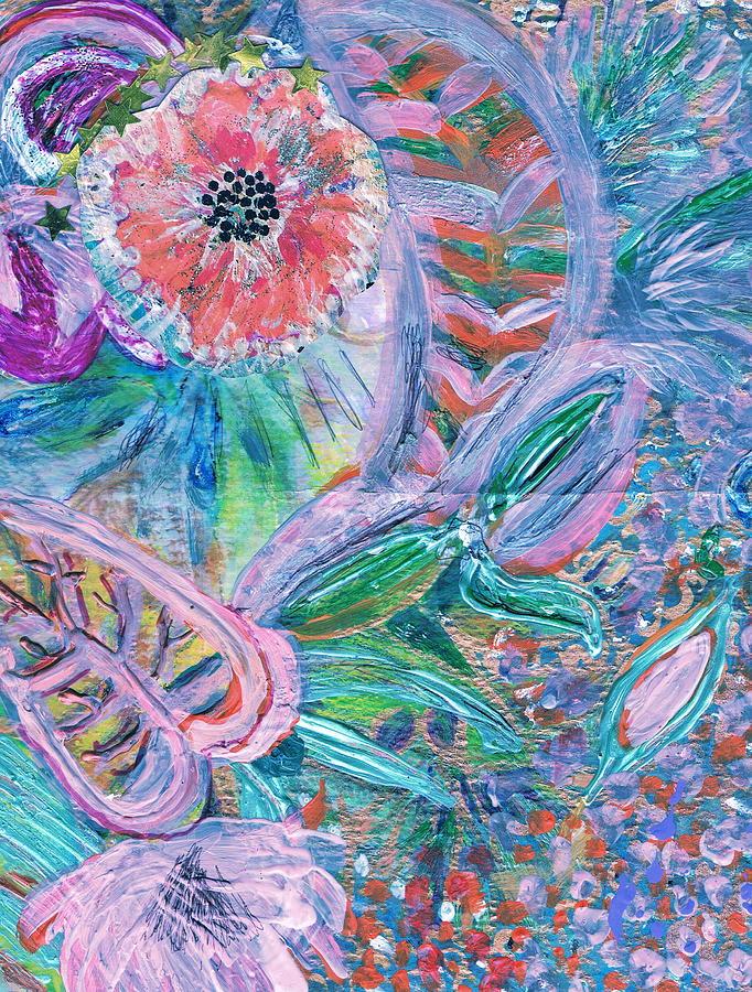 Leaves Mixed Media - Twisty by Anne-Elizabeth Whiteway