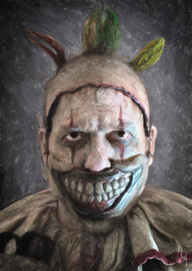 Twisty The Clown Painting By Zapista Zapista