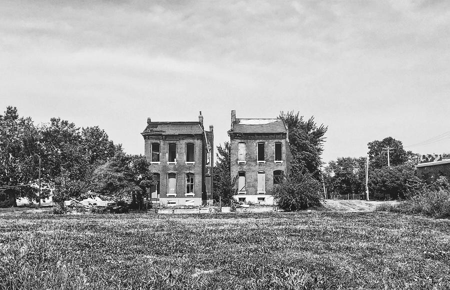 Abandoned Photograph - Two Abandoned Houses by Dylan Murphy