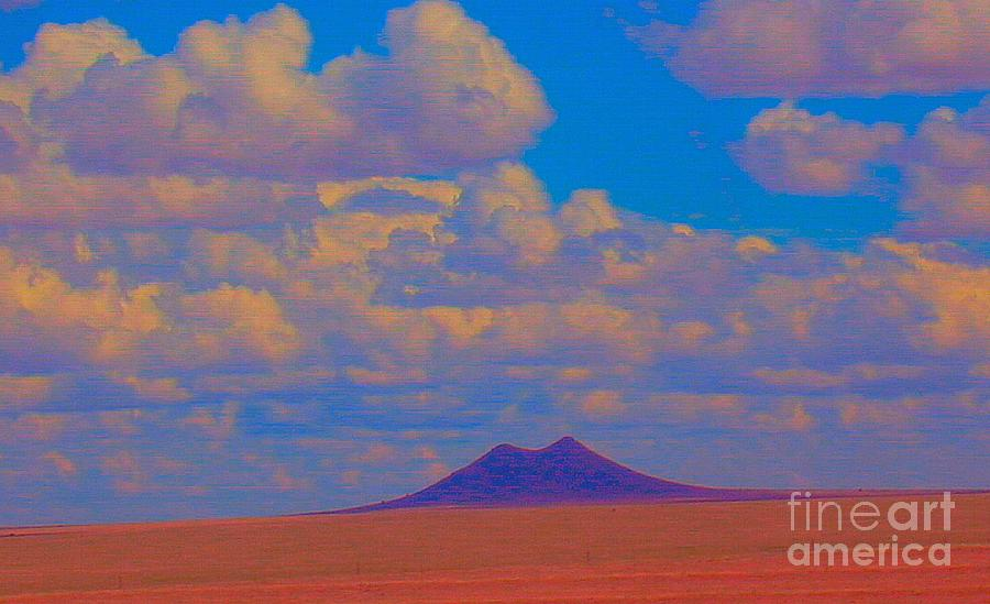 Springfield Photograph - Two Butte Colorado Revisited by Robert Morrissey