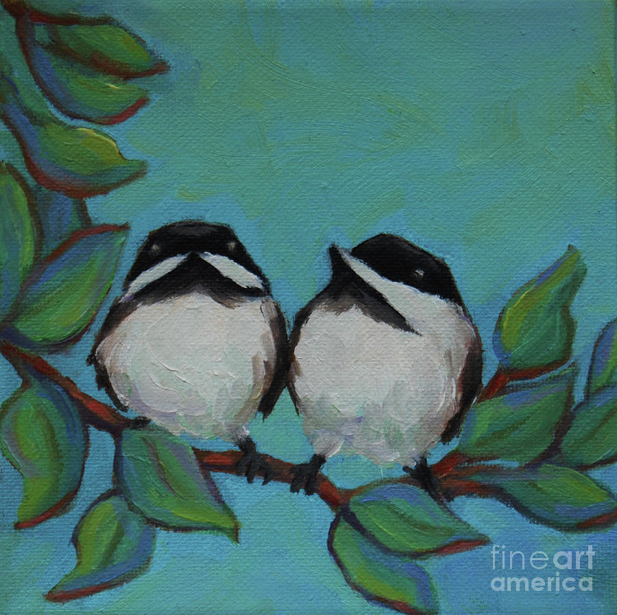 Two Chicks by Victoria Page