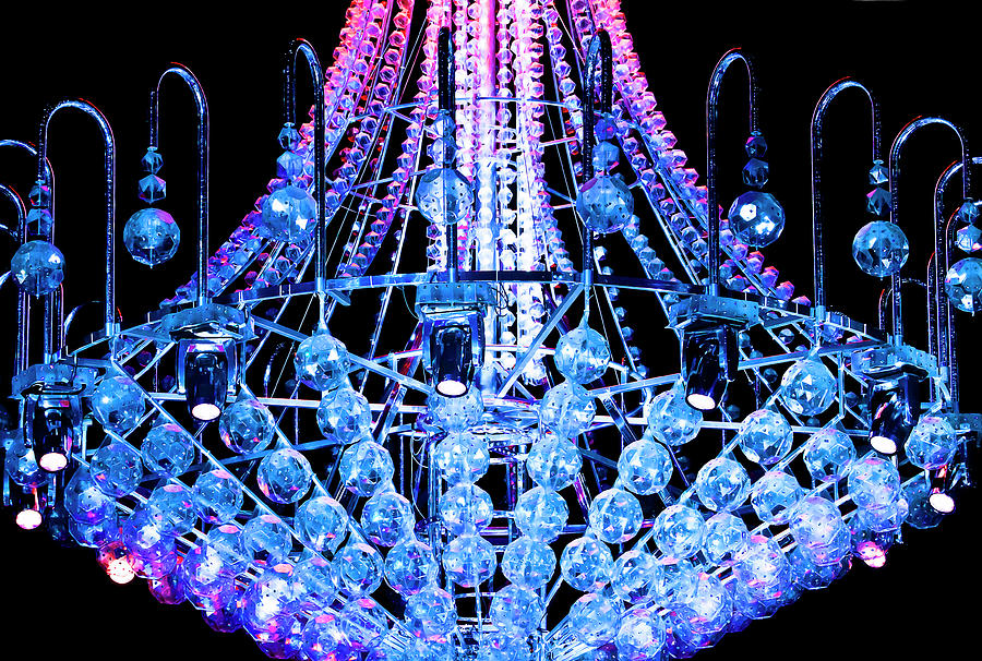 Two Colours One Chandelier Photograph