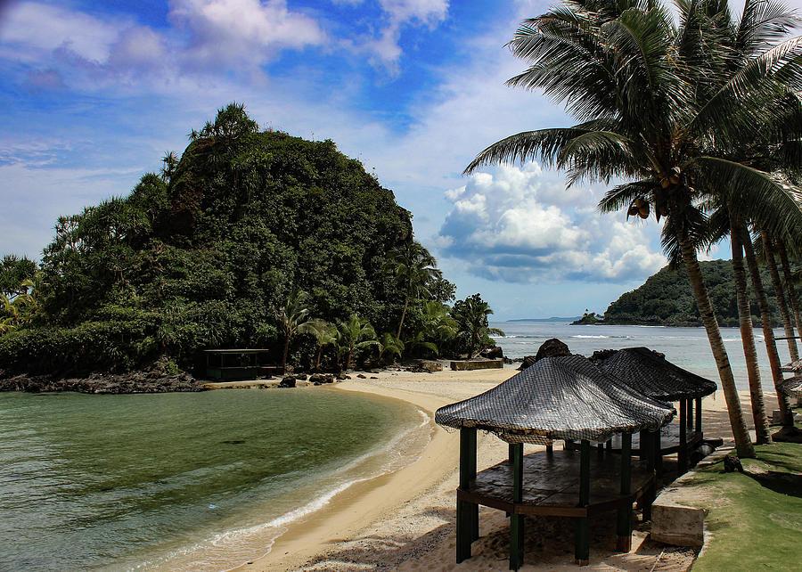 Two Dollar Beach on American Samoa by Brenda Smith DVM
