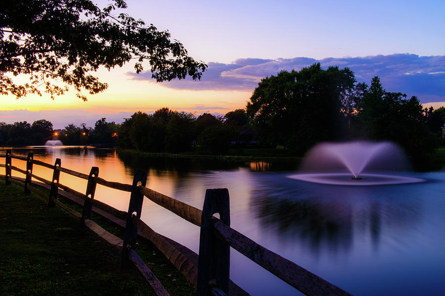 Two Fountains by Marlo Montanaro