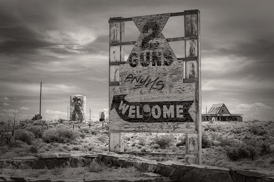 Two Guns by Jim Moss