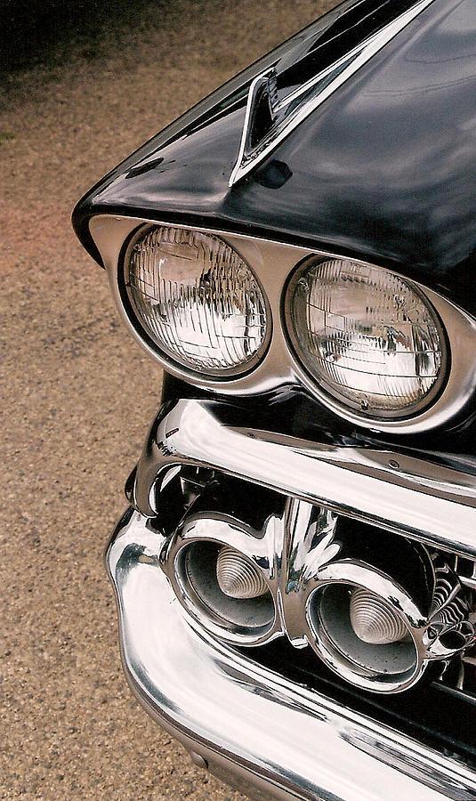 Headlights Photograph - Two Headlights by Lauri Novak