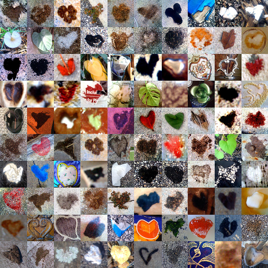 Abstract Hearts Photograph - Two Hundred Series by Boy Sees Hearts