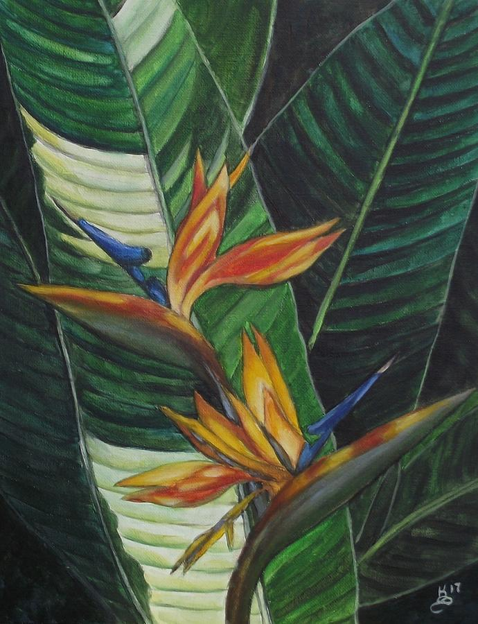 Acrylic Painting - Two Is Company  by Kim Selig