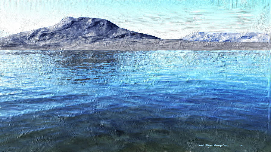 Two Lakes by Wayne Bonney
